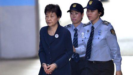 COREA DEL SUR:  Condenan a 24 años prisión a la expresidenta Geun-hye