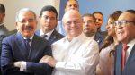 SANTIAGO: Danilo e Hipólito Mejía comparten en inauguración de obra