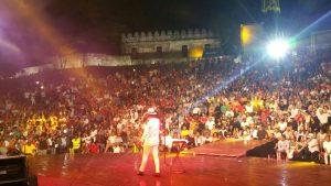 Anfiteatro PP vibra a ritmo de merengue y música tropical