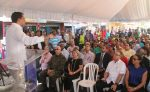 Alcalde David Collado inaugura obras en El Manguito
