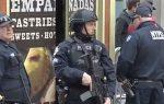Policía emplaza agentes anti terroristas por toda la ciudad