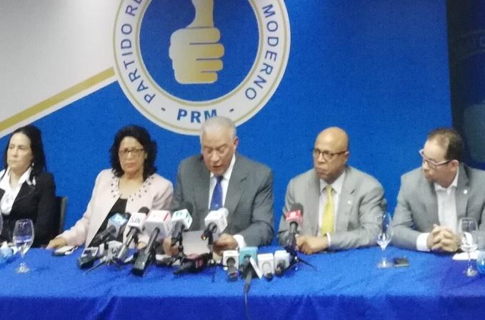 PRM reitera su rechazo a ley de partidos con primarias abiertas