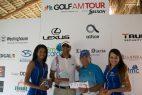 Malespín y Félix ganan parada de golf Channel AM Tour RD