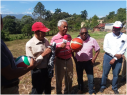 JARABACOA:Junta Vecinos Buena Vistarecibe útiles