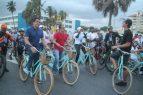 """Collado promueve ciclismo """"Santo Domingo por la Tierra"""""""