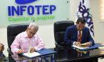 Infotep y Sabores firman acuerdo sobre gastronomía