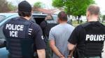 Inmigración detiene 225 personas durante operativo de 6 días