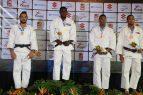 Judocas ganan cinco medallas en clasificatorio Panam 2019