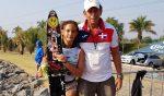 Francesca Pigozzi gana medalla en Latino de Esquí