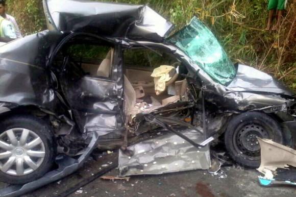 Mueren cinco personas en accidente automovilístico en Constanza