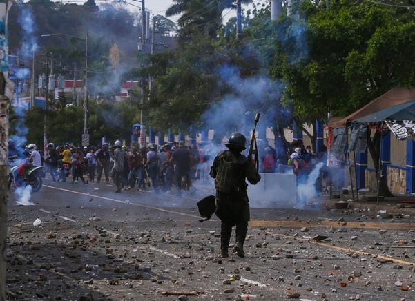 Entre violencia, inicia en Nicaragua diálogo nacional
