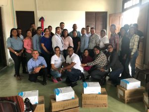 República Digital entrega equipos a empresarios mipymes de Montecristi