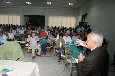 JAD inaugura 2do. Foro de Agricultura Orgánica en el país