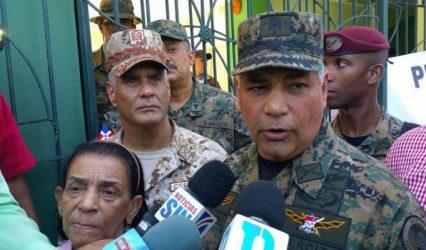 Fuerzas Armadas de la RD remozan destacamentos de la zona fronteriza