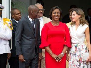 HAITI: Reina Letizia cierra su visita  y emprende viaje de vuelta a Madrid
