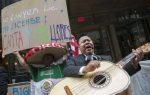 """""""Fiesta latina"""" para protestar frente a abogado acusado racismo"""