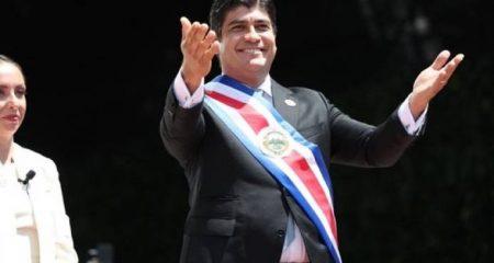 COSTA RICA: Carlos Alvarado asumió este martes la Presidencia del país