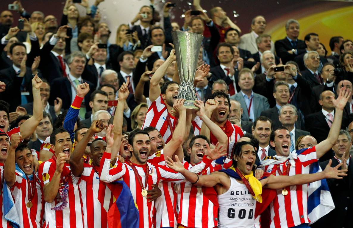 Atlético de Madrid, campeón de la Europa League  Close