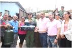 JARABACOA: Consejo entrega estufas y cilindros de gas