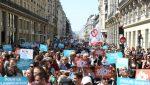 FRANCIA: Marcha multitudinaria contra las reformas de Macron
