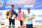 González y Romero conquistan triatlón de la Armada