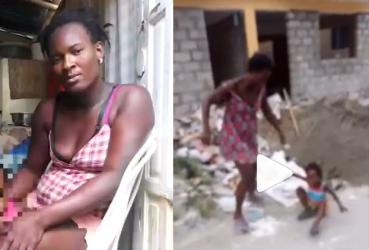 Haitiana golpeó hija no tiene dinero para pagar fianza de 50,000 pesos