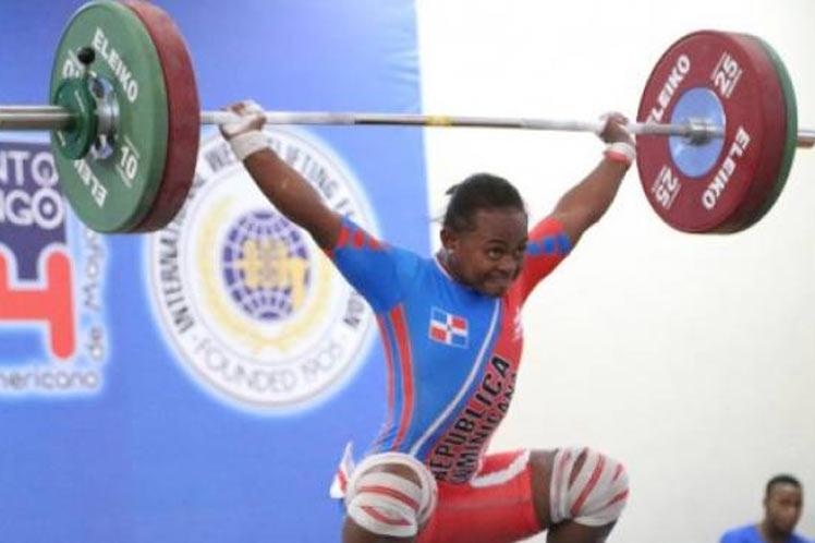 Oro quindiano en el Panamericano de pesas de Santo Domingo