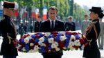 FRANCIA: Macron preside ceremonia de fin de la Segunda Guerra Mundial