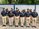 Eddy Herrera se convierte en policía por un día