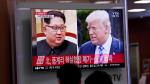 EE.UU.: Trump cancela por carta su cita en Singapur con Kim Jong-un