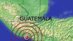 Sismo de 5,7 grados de magnitud sacude Guatemala sin causar daños