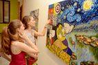 Premian artistas plásticos por plasmar herencia cultural europea