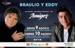 Braulio y Eddy Herrera juntos por primera vez en la RD