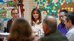 EE.UU: Melania Trump visita el centro de detención niños en Texas