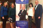 R. Dom. presenta ante Unesco Premio al Emigrante Óscar de la Renta