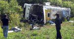 Siete muertos y 28 heridos en un accidente autobús al oeste México