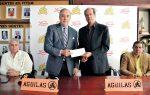 Grupo Linda entrega US$1 millón a las Aguilas para comercialización