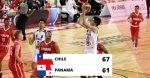 Chile derrota Panamá y disputará quinto lugar con RD