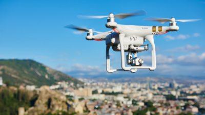 Realizan pruebas con drones para abastecer la frontera RD-Haití