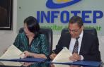 Fundación Reservas e Infotep firman acuerdo para capacitar a microempresarios