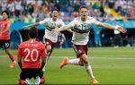 México, Alemania y Bélgica avanzan en el Mundial de Fútbol