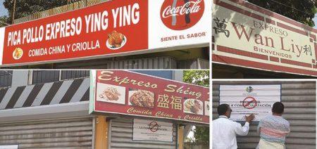 Clausuran tres restaurantes chinos por poca higiene