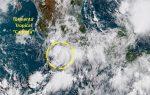 MEXICO: Tormenta tropical Carlotta tiene en alerta por lluvias a 9 estados
