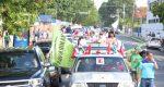 """Organizaciones realizaron protesta por las """"alzas"""" de los combustibles"""