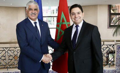 R. Dom. y Marruecos acuerdan consolidar la cooperación bilateral