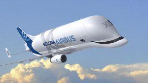Avión de pasajeros más grande del mundo hace su viaje inaugural