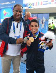 Ministro Deportes expresa júbilopor primeras medallas