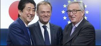 Europa y Japón firmaron un acuerdo de libre comercio en Tokio, el más grande jamás negociado