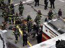 Camioneta se estrelló contra dos tiendas, hay cuatro heridos