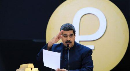 """VENEZUELA: Maduro anuncia nuevo tipo de cambio """"anclado al petro"""""""